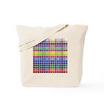 256 Colors Tote Bag