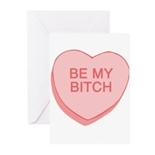 Be My Bitch Greeting Cards (Pk of 10)
