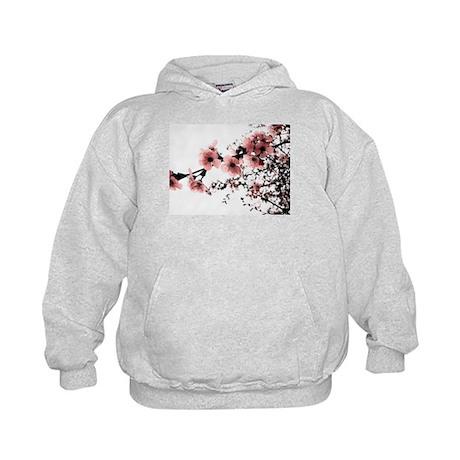 Cherry Blossoms Kids Hoodie