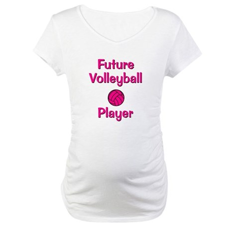 Future Volleyball Player Maternity T-Shirt