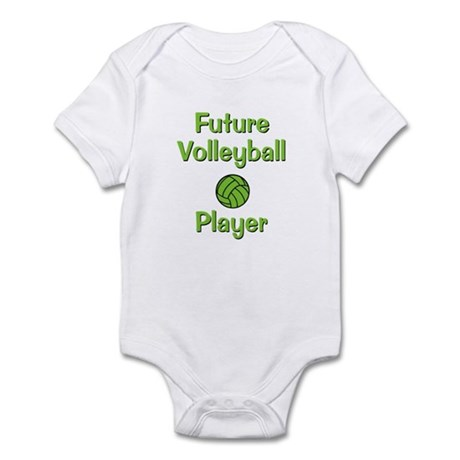 Future Volleyball Player Infant Bodysuit