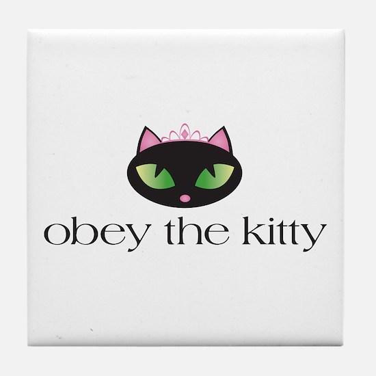 Princess Kitty Tile Coaster
