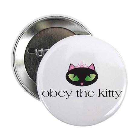 "Princess Kitty 2.25"" Button"