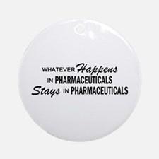 Whatever Happens - Pharmaceuticals Ornament (Round