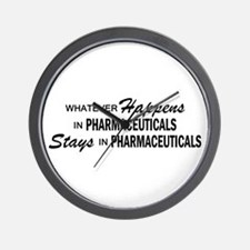 Whatever Happens - Pharmaceuticals Wall Clock