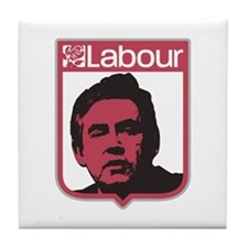 Cute Labour party Tile Coaster