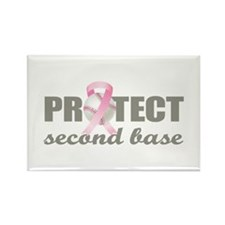 Second Base Rectangle Magnet (10 pack)