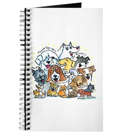 thank you dogs amp cats journal by maggiesangels
