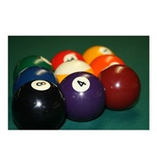 Cute Billards Postcards (Package of 8)