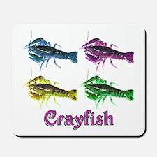Retro Crayfish Mousepad
