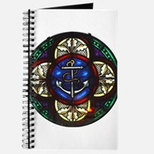 Stained Glass Fouled Anchor Journal