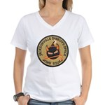Jacksonville Bomb Squad Women's V-Neck T-Shirt