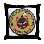 Jacksonville Bomb Squad Throw Pillow