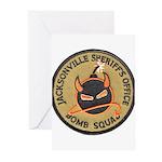 Jacksonville Bomb Squad Greeting Cards (Pk of 20)