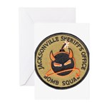 Jacksonville Bomb Squad Greeting Cards (Pk of 10)