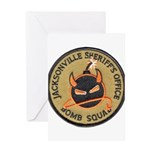 Jacksonville Bomb Squad Greeting Card