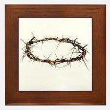 Crown of Thorns Framed Tile