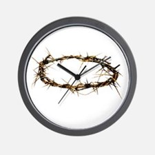 Crown of Thorns Wall Clock