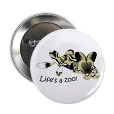 "African Wild Dog 2.25"" Button"