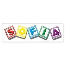 Sofia Bumper Sticker