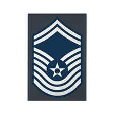 CMSgt Pre-1992 Stripes 2nd Rectangle Magnet
