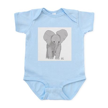 Elephant calf Infant Creeper