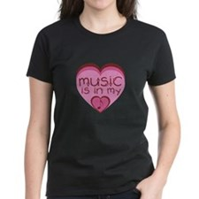 Music is in my heart. Tee