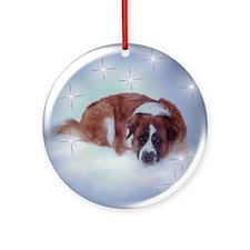 Saint Bernard star  Ornament (Round)