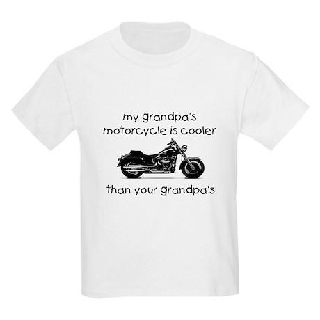 My grandpas motorcycle Kids Light T-Shirt