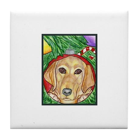 Yellow Labrador Tile Coaster