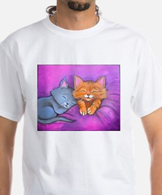 Kittens In Bed Shirt