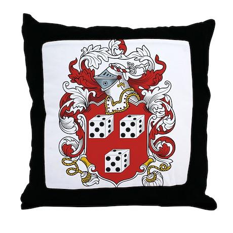 Mathias Coat of Arms Throw Pillow