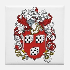 Mathias Coat of Arms Tile Coaster