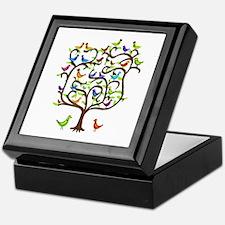 bird tree Keepsake Box