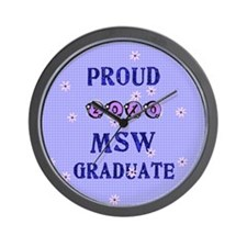 Funny Msw Wall Clock