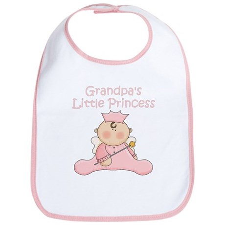 Grandpa's Little Princess Bib