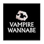 Vampire Wannabe Tile Coaster