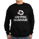 Vampire Wannabe Sweatshirt (dark)