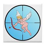 Target Cupid Tile Coaster