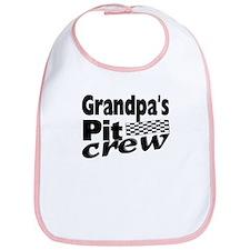 Grandpa's Pit Crew Bib