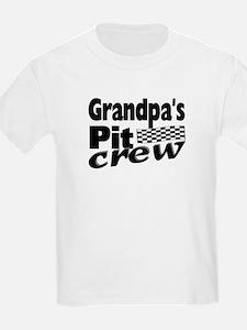 Grandpa's Pit Crew T-Shirt