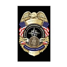 2-OGA Badge Decal Decal