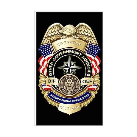 2-OGA Badge Sticker Sticker