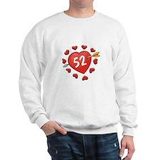 52nd Valentine Sweatshirt