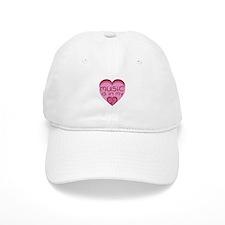 Music is in My Heart Baseball Cap