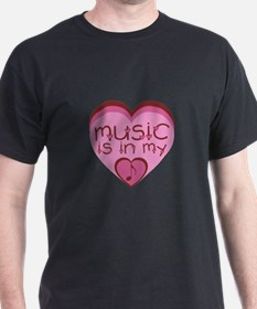 Music is in My Heart T-Shirt