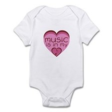 Music is in My Heart Infant Bodysuit