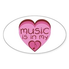 Music is in My Heart Decal