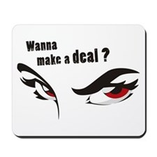 Red Eyes Mousepad