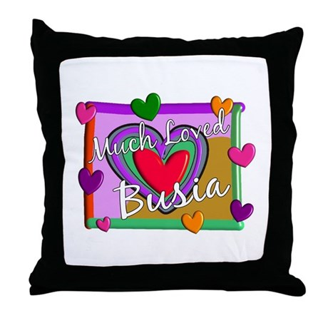 Polish Grandmother Throw Pillow